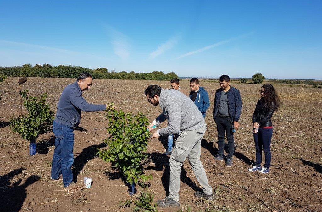 Земеделският производител Марин Димов отвори фермата си за студенти и ученици