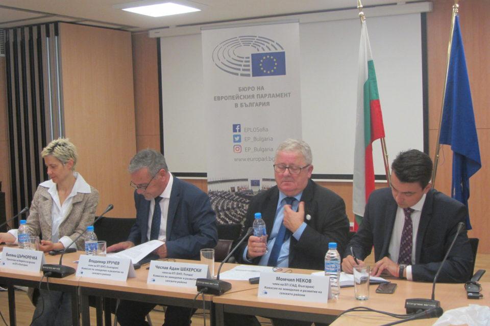 Решението за таваните ще бъде политическо, необходима е общоевропейска рамка за горната граница на плащанията в земеделието