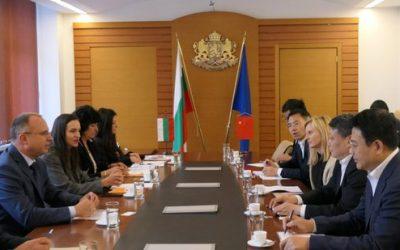 Китай проявява засилен интерес към българските селскостопански продукти