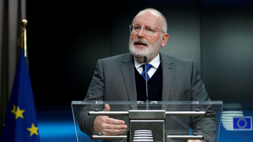 """Писмените отговори на Франс Тимерманс на въпроси на членовете на ЕП преди изслушването му, насрочено за 8 октомври, показват, че възнамерява да бъде """"добър ръководител на зелената сделка"""""""