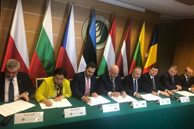 Министрите на земеделието на България, Полша, Чехия, Унгария, Естония, Латвия, Литва, и Румъния подписаха декларация за съвместна позиция по реформата на ОСП